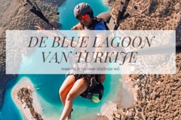 blue lagoon turkije