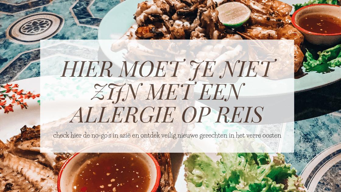 allergie op reis