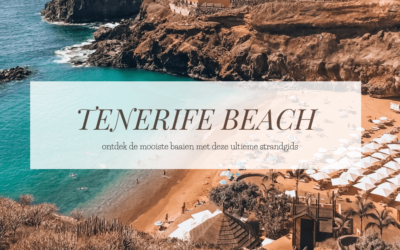 TENERIFE | 5x oogstrelend mooie stranden